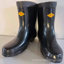 electrical insulating boots for medium voltage ele