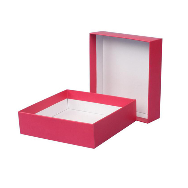 Red Paper Rigid Box