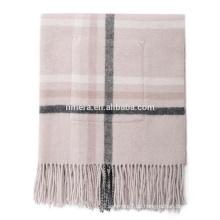 Innere Mongolei Hersteller Winter Schal swi0046 Doppel-Gürteltasche Plaid Wolle Dame warmen dicken Schal