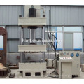 Hydraulic press machine for solar water heater production line