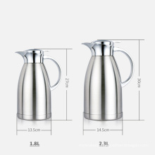 large vacuum stainless steel thermal cafe kettle