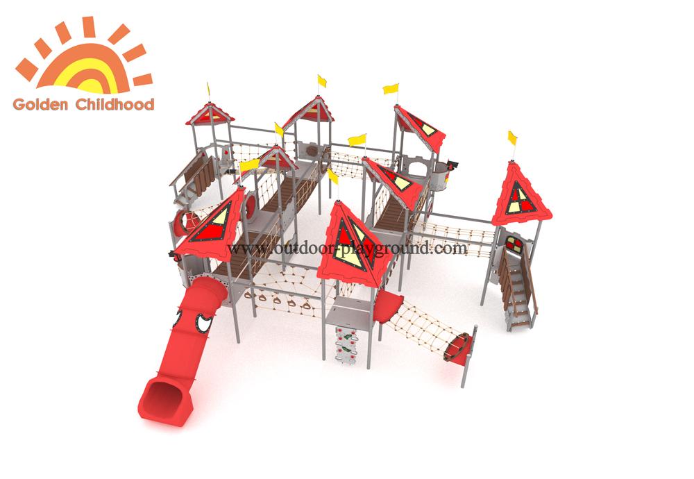 Bridge Net Outdoor Tube Slide Equipment2