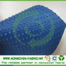 Tissu non tissé antidérapant de pp pour des chaussures