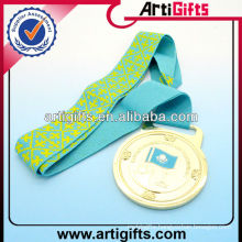 Silk screen printing medal ribbon lanyard