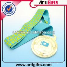 Медали тесемки печатания шелковой ширмы талреп