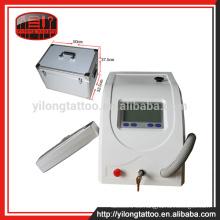 600MJ dispositivo de eliminación de tatuajes de láser doble pulsos