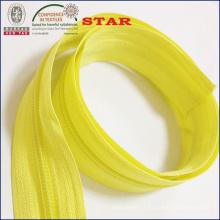Fermeture à glissière en nylon à longue chaîne