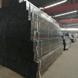 Black Annealed Thin wall furniture Pipe