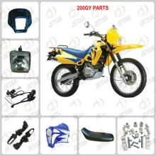 ZS200GY Motorcycle Spare Parts