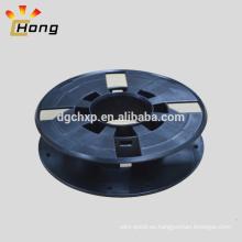 Carrete de plástico vacío de 155 mm para carga de filamento de impresora en 3D de 0,25 kg