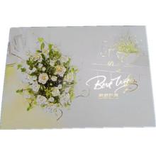 Vier Farben Custom Wedding Einladungskarten Grußkarten Druck