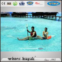 Kayak de Cristal de Doble / Transparente Transparente Completo