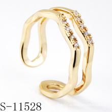 925 Sterling Silber Modeschmuck Ring (S-11528.)