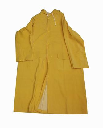 long Pvc Polyester Raincoat