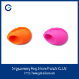 New style mini studio silicone egg shaped loudspeaker for mobile phone