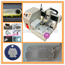 Syngood Mini CNC Router SG4040/SG3040-dog tag engraver