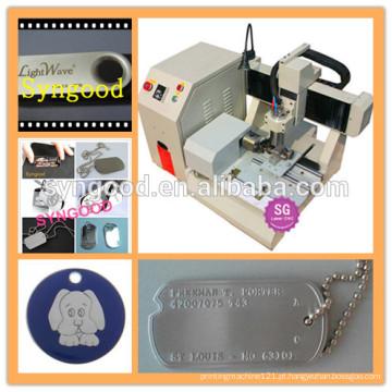 Syngood Mini CNC Router SG4040 / SG3040-especial para etiqueta de cão de sublimação