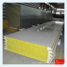 Light Steel Fireproof Mineral Wool Sandwich Panel