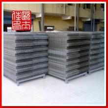 304 de aço inoxidável soldada painel de malha de arame e arame soldado gado painéis e painéis de aço galvanizado de malha de arame