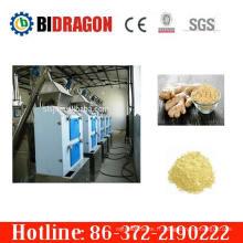 Usine de broyage à poudre à gingembre à rouleaux complet complète à chaud avec 400 kg / h