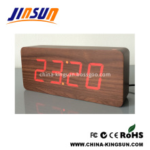 Smart Modern Desk Alarm Clock With Large Led