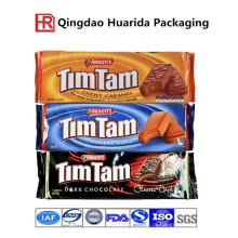 Saco de embalagem de comida de chocolate PP