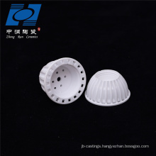 Factory sale white ceramic lamp holder