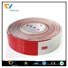 Reflective self-adhesive tape for road safety sign