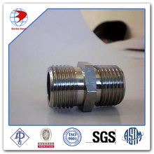 Stainless Steel NIPPLE with MNPT according to ASME B16.11