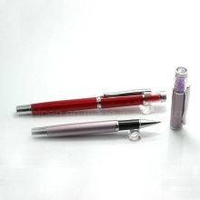 Уникальная металлическая шариковая ручка Декоративный кристалл для женщин