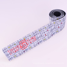Eco-Friendly White Polyester/Nylon/Cotton Strap Elastic with Fasteners