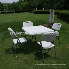 SXC01 outdoor portable square plastic folding table