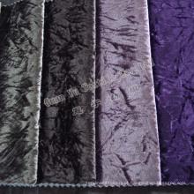 Estofos em veludo macio Super sofá tecido com revestimento protetor de tecido de malha