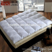 Trade Assurance Wholesale Cheap Waterproof Hotel Feather Mattress Topper