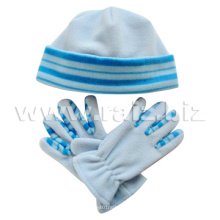 Polar Fleece Hat & Gloves Set