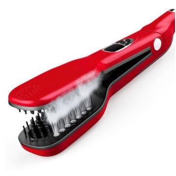 Cheveux lisser créatives cheveux lisseur vapeur la brosse vapeur de peigne