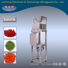 Detector de metais por alimentação por gravidade