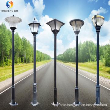 Outdoor garden lights led with street light pole