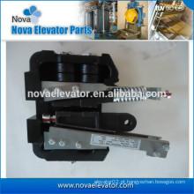 Elevador de segurança de venda quente engrenagem, com 1,6 m / s, 16 milímetros Especificações