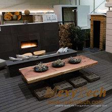 Foshan Restaurant Interior Composite Color Grain Deck