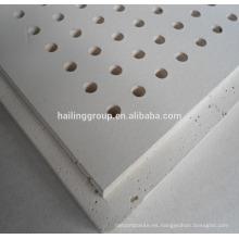 12MM Precios de paneles de yeso en Egipto / Panel de yeso perforado