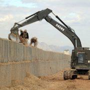 Welded Military Used Gabion Hesco Barrier