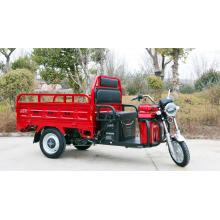 Three Wheels Cargo Electric Tricycle Motorcycle Rickshaw