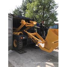 HY200 Self-Loading Concrete Mixer Portable Concrete Mixer
