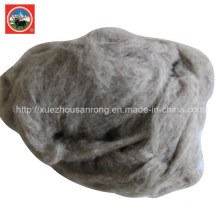 Penteado Bege / lã de Iaque Cardada / Cashere / Tecido de Lã de Camelo / Têxtil / Matéria-prima Desperdiçada