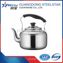 201# 1 L Stainless steel water kettle with whistling
