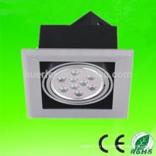 La venta caliente epistar de la venta caliente 85-265V de la alta calidad 1 cabeza 7w 3W llevó la luz 3w de la parrilla