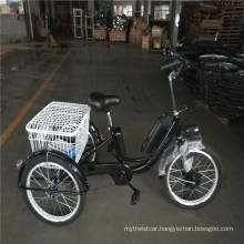 """500W 3 Wheel Adult 20"""" Electric Cargo Tricycle"""