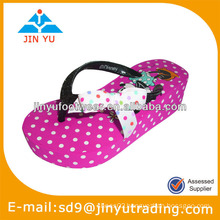 2014 girls high heel slippers