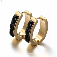 Best Price High End Black Zircon Stone Earrings For Women